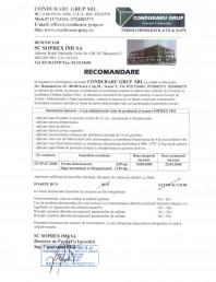 Recomandare Soprex IMI