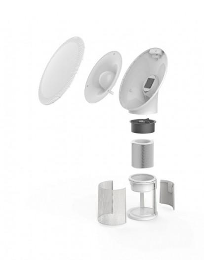 Componente ale purificatorului de aer Solair Purificator de aer