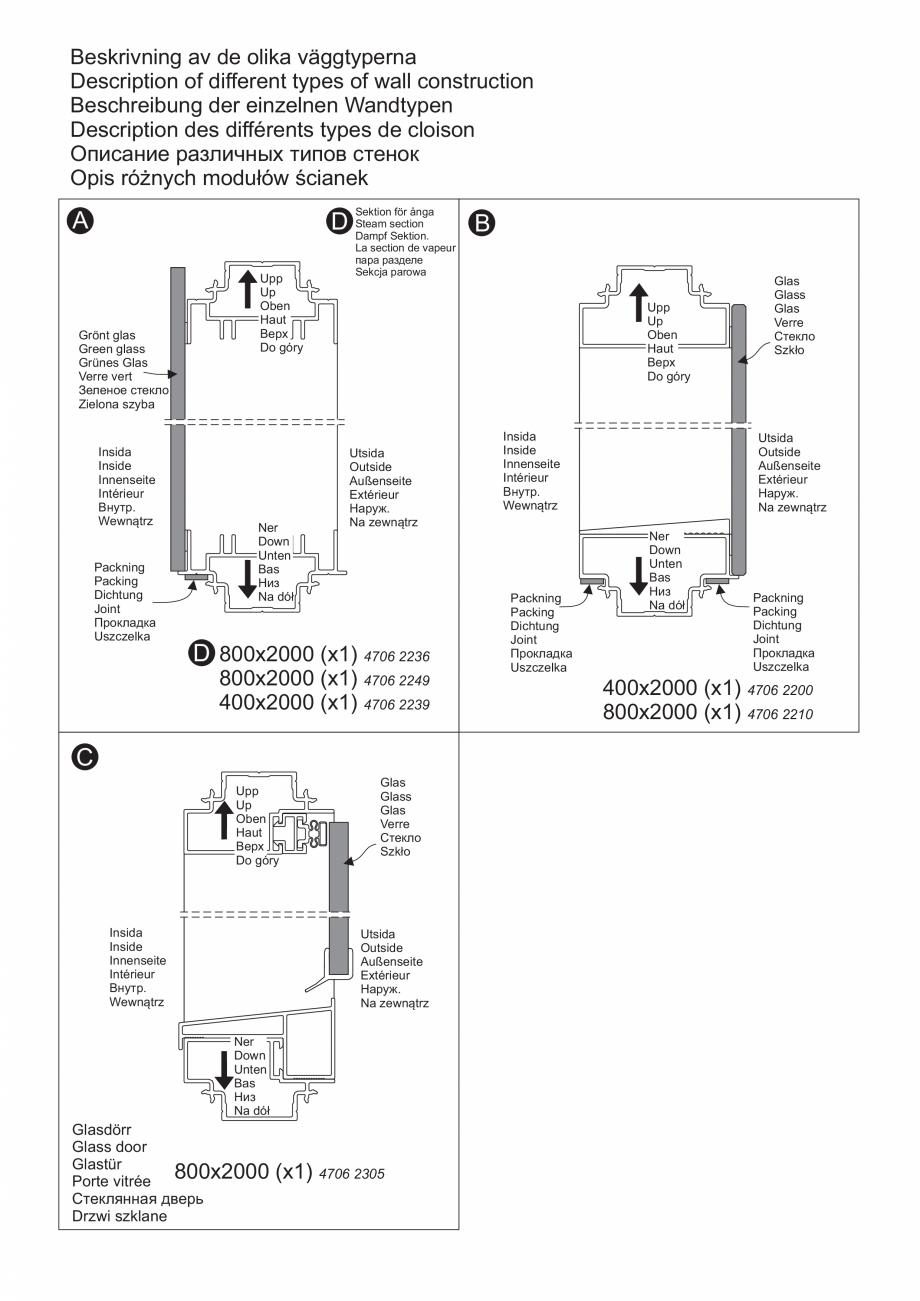 Pagina 11 - Ghidul utilizatorului pentru baia cu aburi UE Panacea Instructiuni montaj, utilizare...