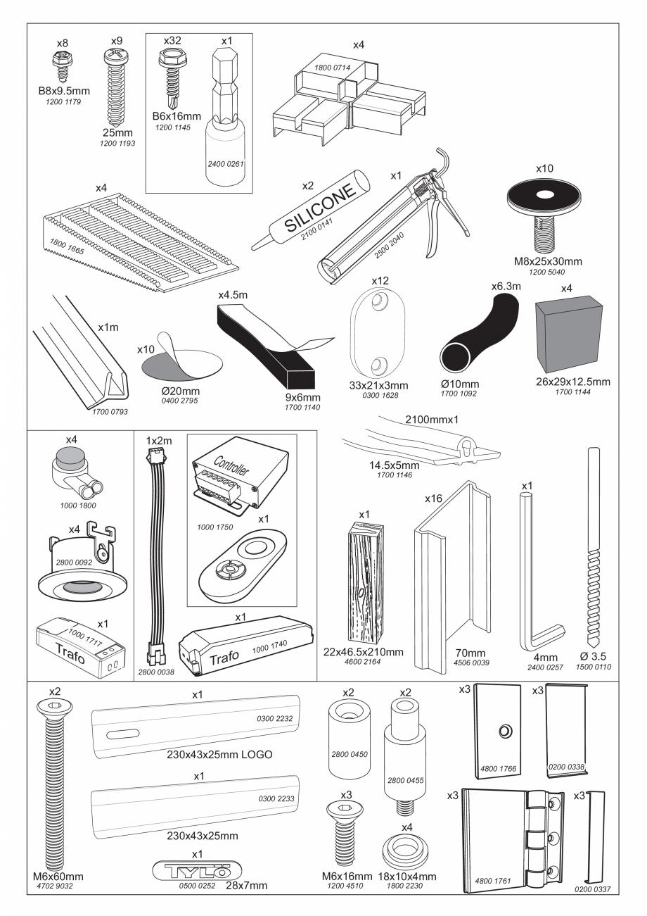Pagina 12 - Ghidul utilizatorului pentru baia cu aburi UE Panacea Instructiuni montaj, utilizare...