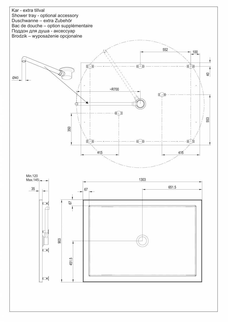 Pagina 15 - Ghidul utilizatorului pentru baia cu aburi UE Panacea Instructiuni montaj, utilizare...