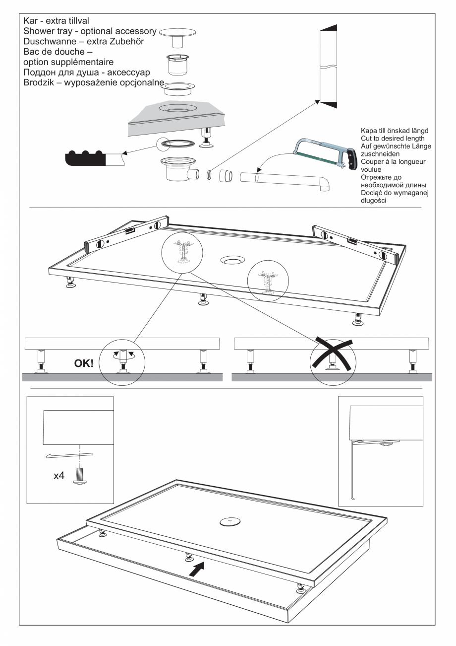 Pagina 17 - Ghidul utilizatorului pentru baia cu aburi UE Panacea Instructiuni montaj, utilizare...