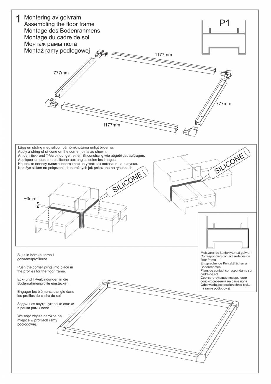 Pagina 18 - Ghidul utilizatorului pentru baia cu aburi UE Panacea Instructiuni montaj, utilizare...