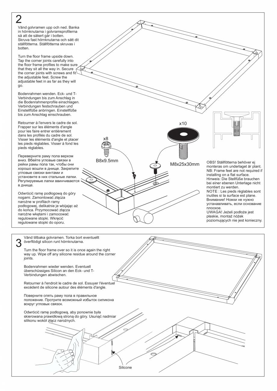 Pagina 19 - Ghidul utilizatorului pentru baia cu aburi UE Panacea Instructiuni montaj, utilizare...