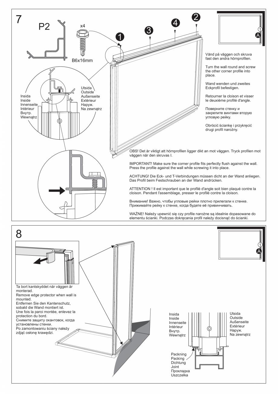 Pagina 23 - Ghidul utilizatorului pentru baia cu aburi UE Panacea Instructiuni montaj, utilizare...