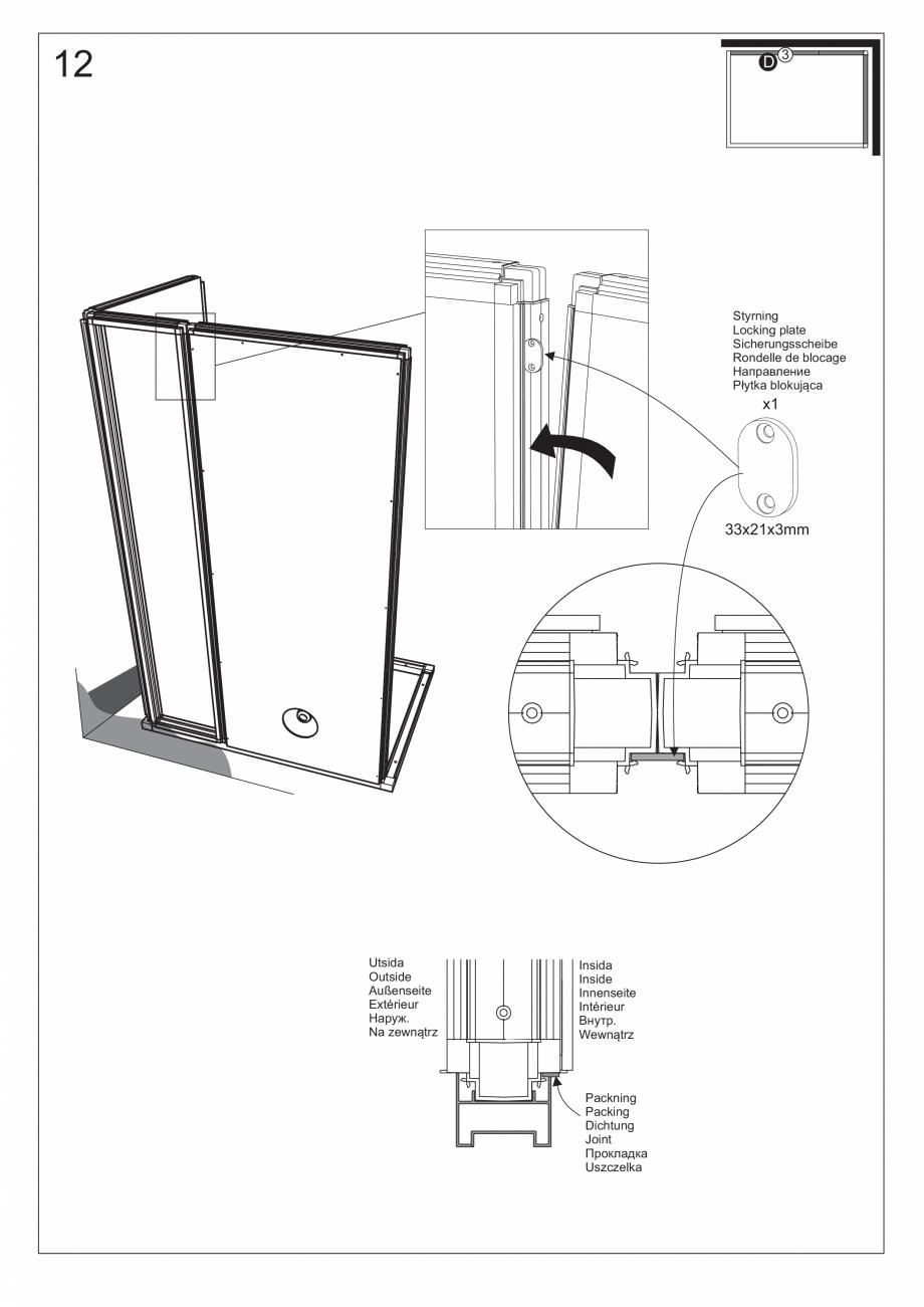 Pagina 27 - Ghidul utilizatorului pentru baia cu aburi UE Panacea Instructiuni montaj, utilizare...