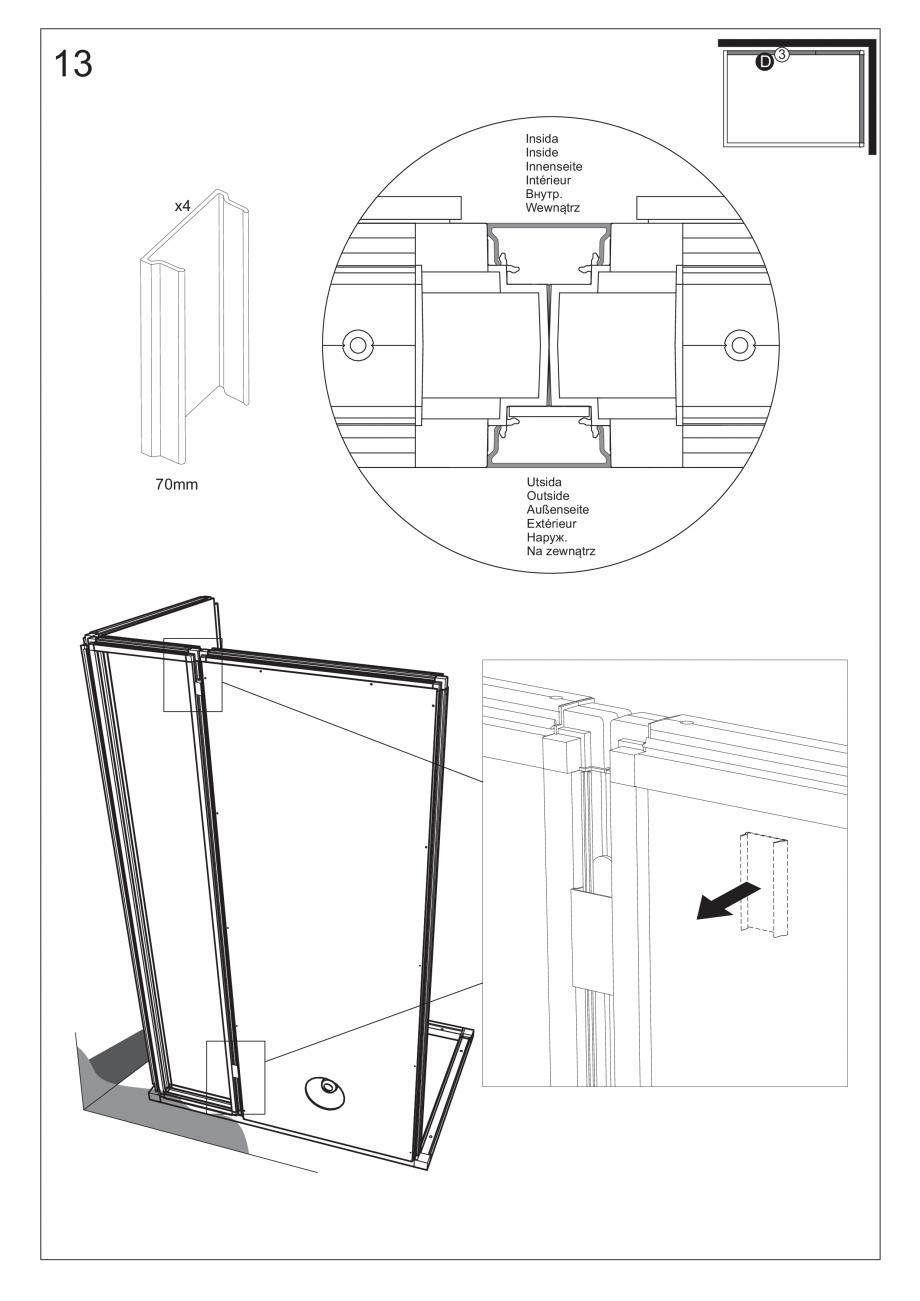 Pagina 28 - Ghidul utilizatorului pentru baia cu aburi UE Panacea Instructiuni montaj, utilizare...