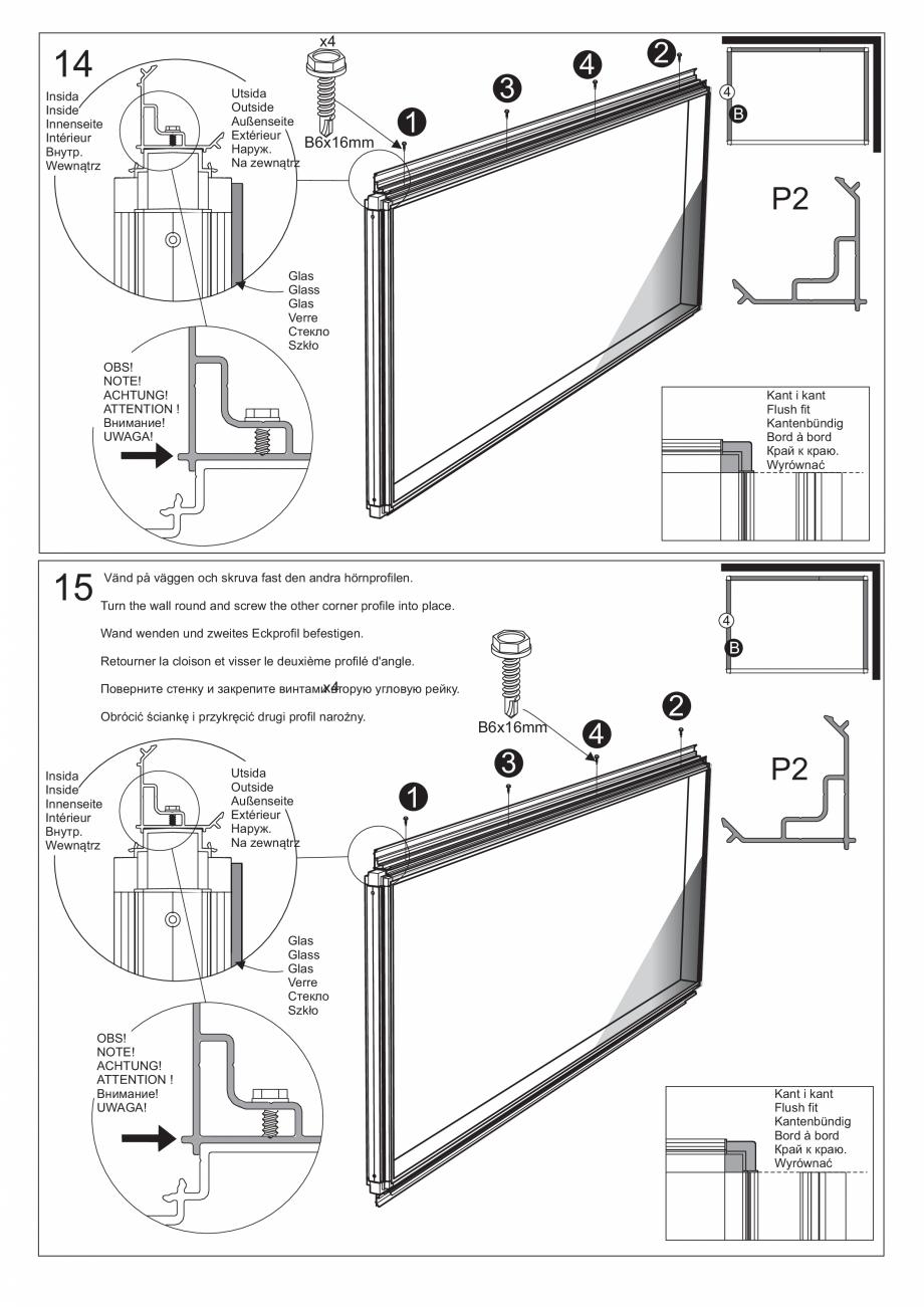 Pagina 29 - Ghidul utilizatorului pentru baia cu aburi UE Panacea Instructiuni montaj, utilizare...
