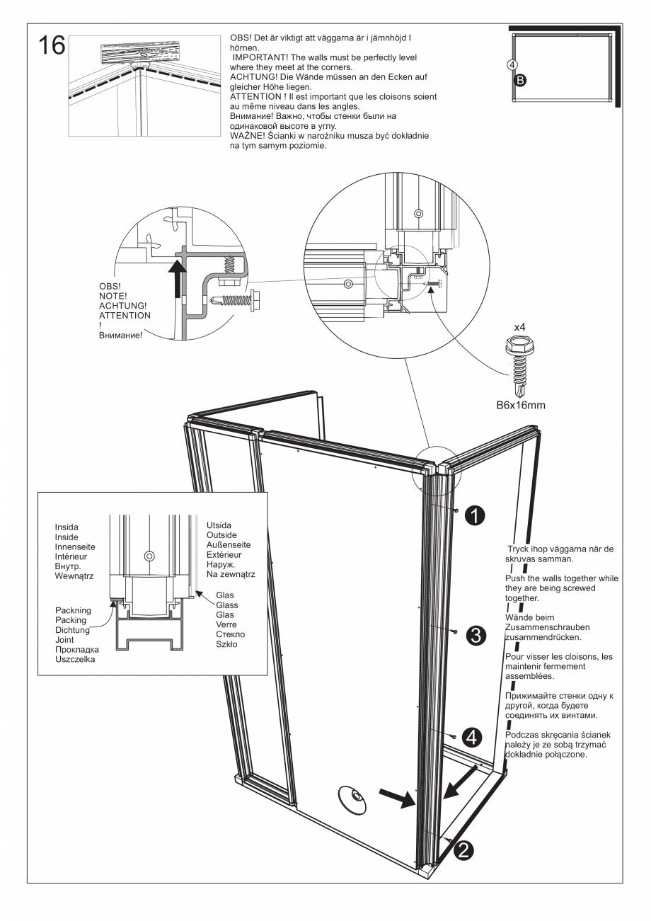 Pagina 30 - Ghidul utilizatorului pentru baia cu aburi UE Panacea Instructiuni montaj, utilizare...