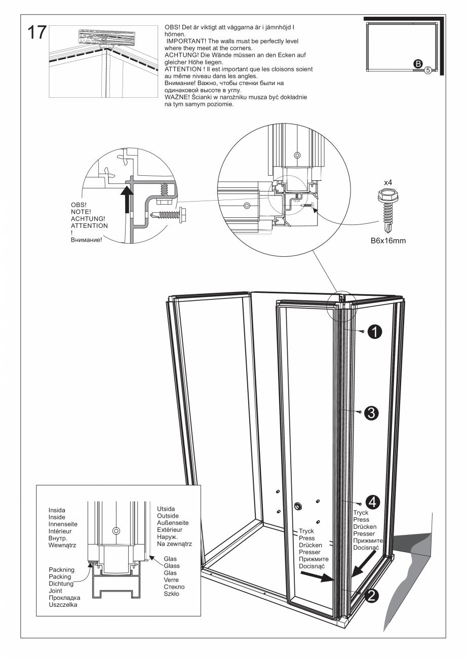 Pagina 31 - Ghidul utilizatorului pentru baia cu aburi UE Panacea Instructiuni montaj, utilizare...