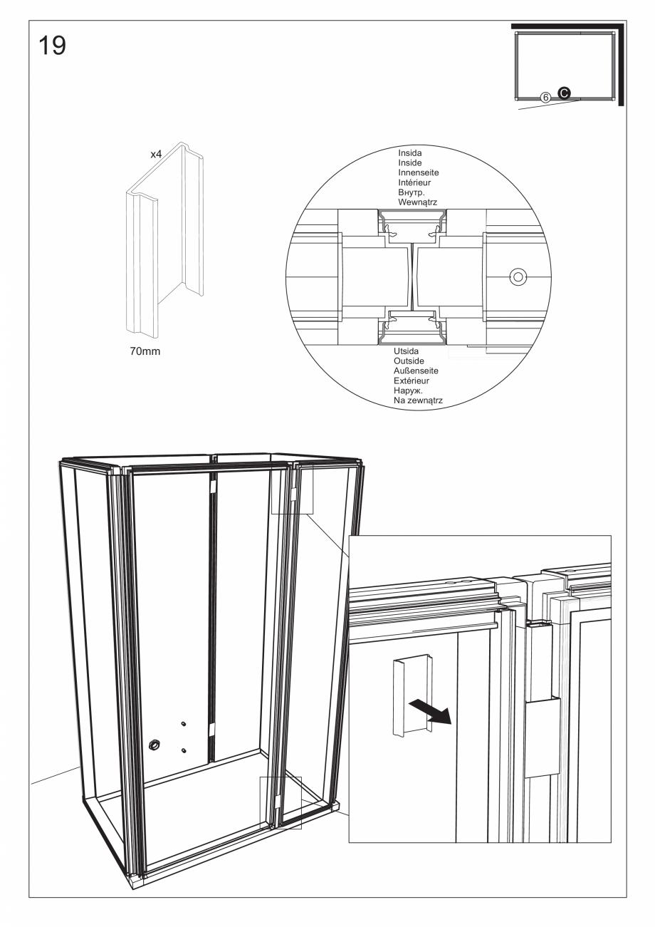 Pagina 33 - Ghidul utilizatorului pentru baia cu aburi UE Panacea Instructiuni montaj, utilizare...