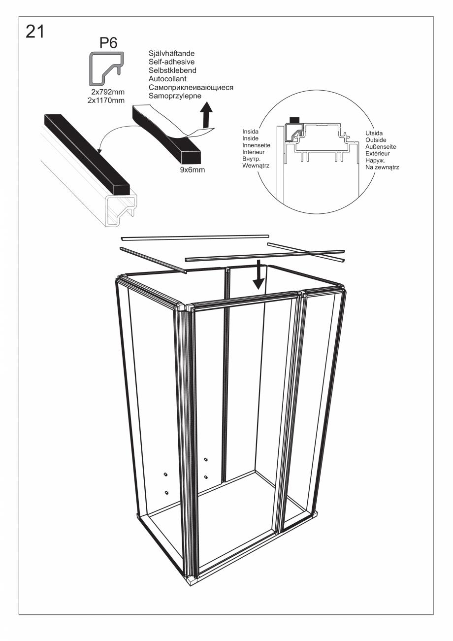 Pagina 35 - Ghidul utilizatorului pentru baia cu aburi UE Panacea Instructiuni montaj, utilizare...