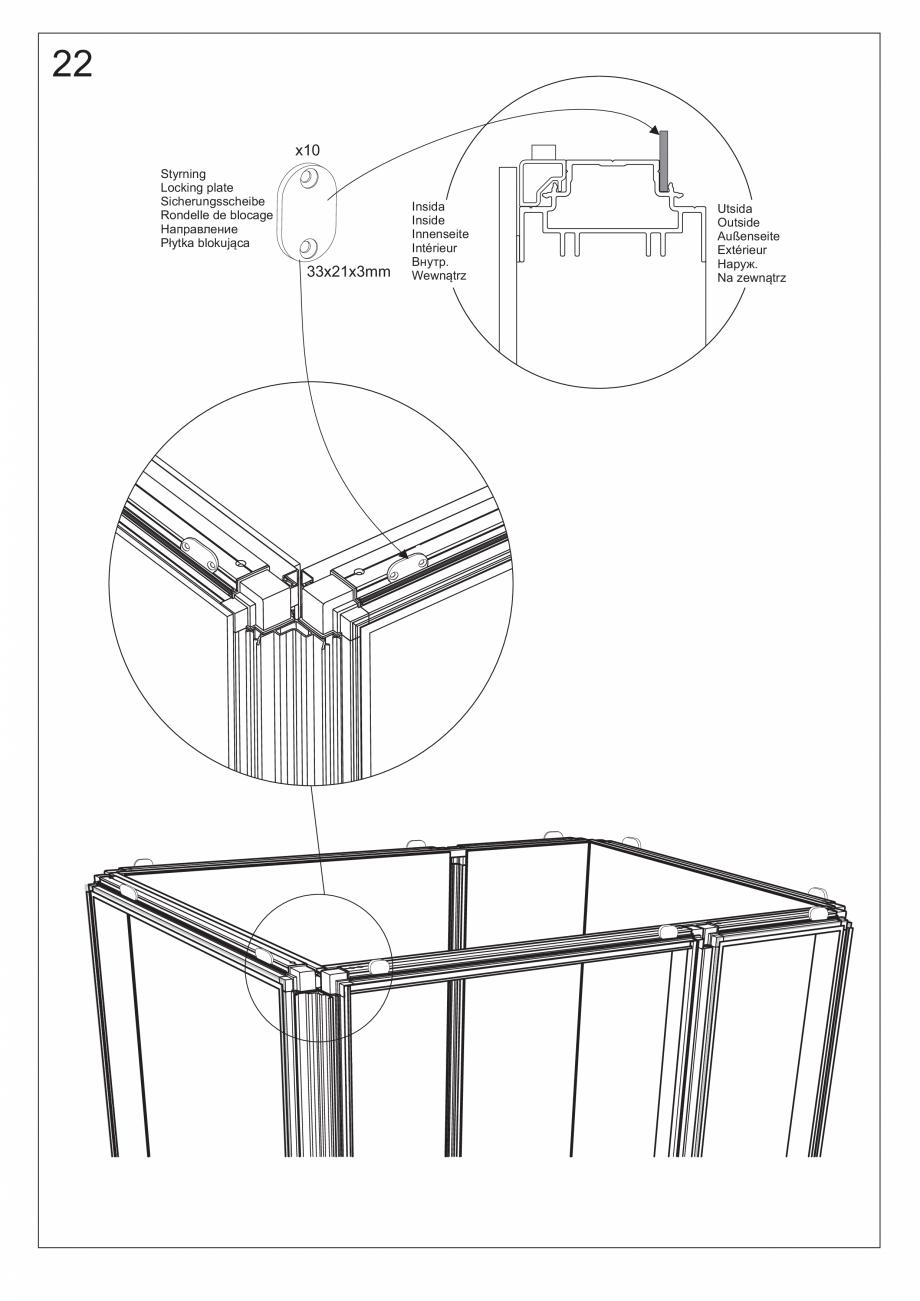 Pagina 36 - Ghidul utilizatorului pentru baia cu aburi UE Panacea Instructiuni montaj, utilizare...