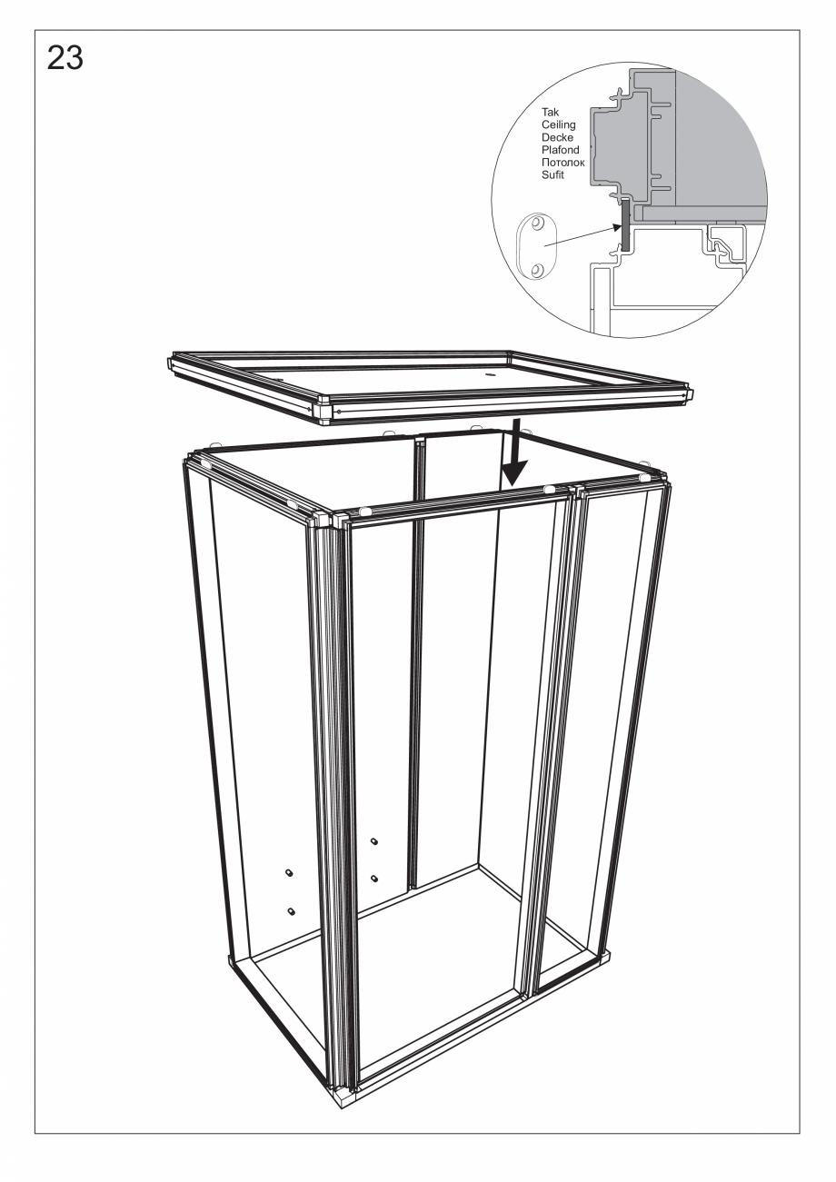 Pagina 37 - Ghidul utilizatorului pentru baia cu aburi UE Panacea Instructiuni montaj, utilizare...