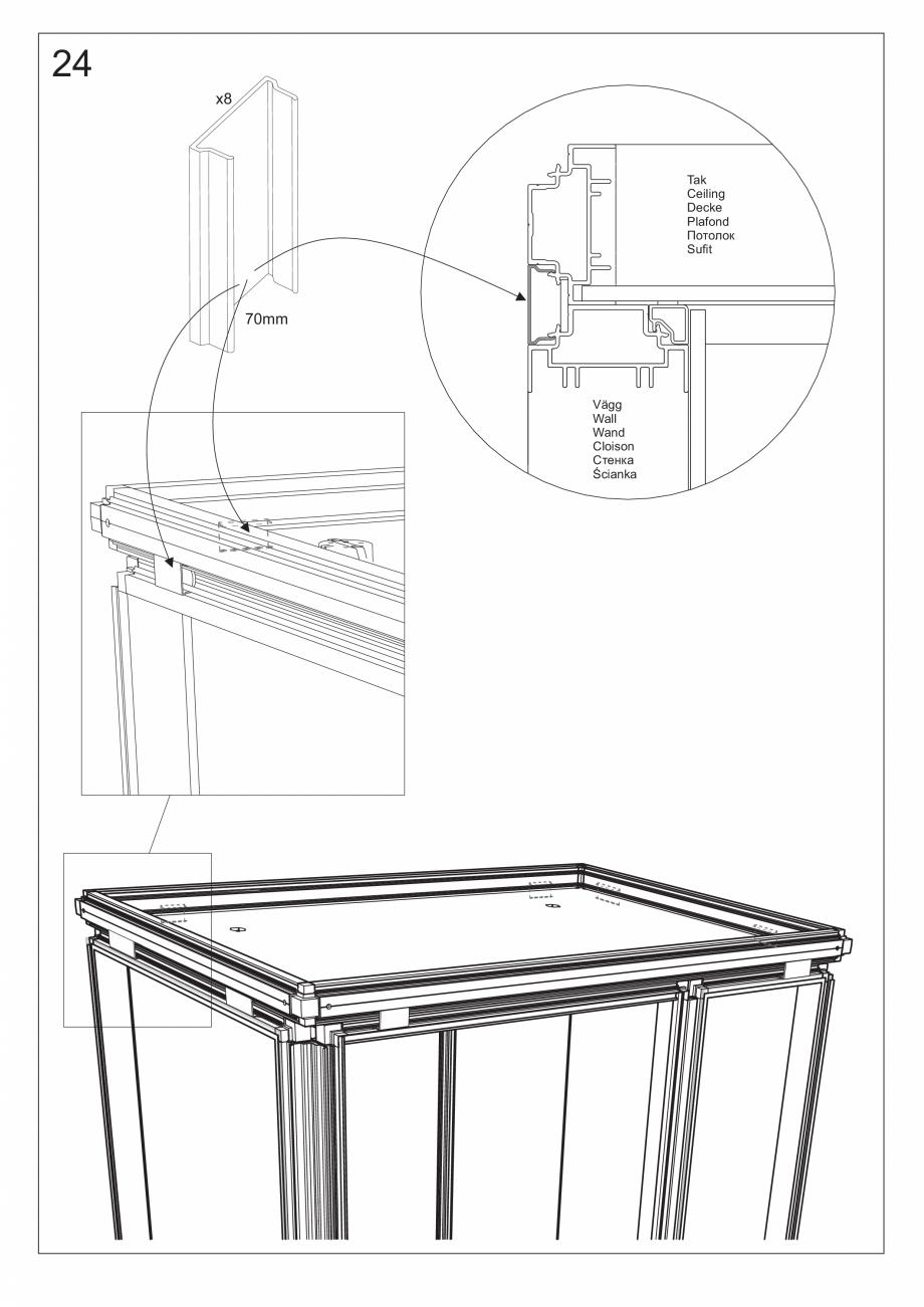 Pagina 38 - Ghidul utilizatorului pentru baia cu aburi UE Panacea Instructiuni montaj, utilizare...