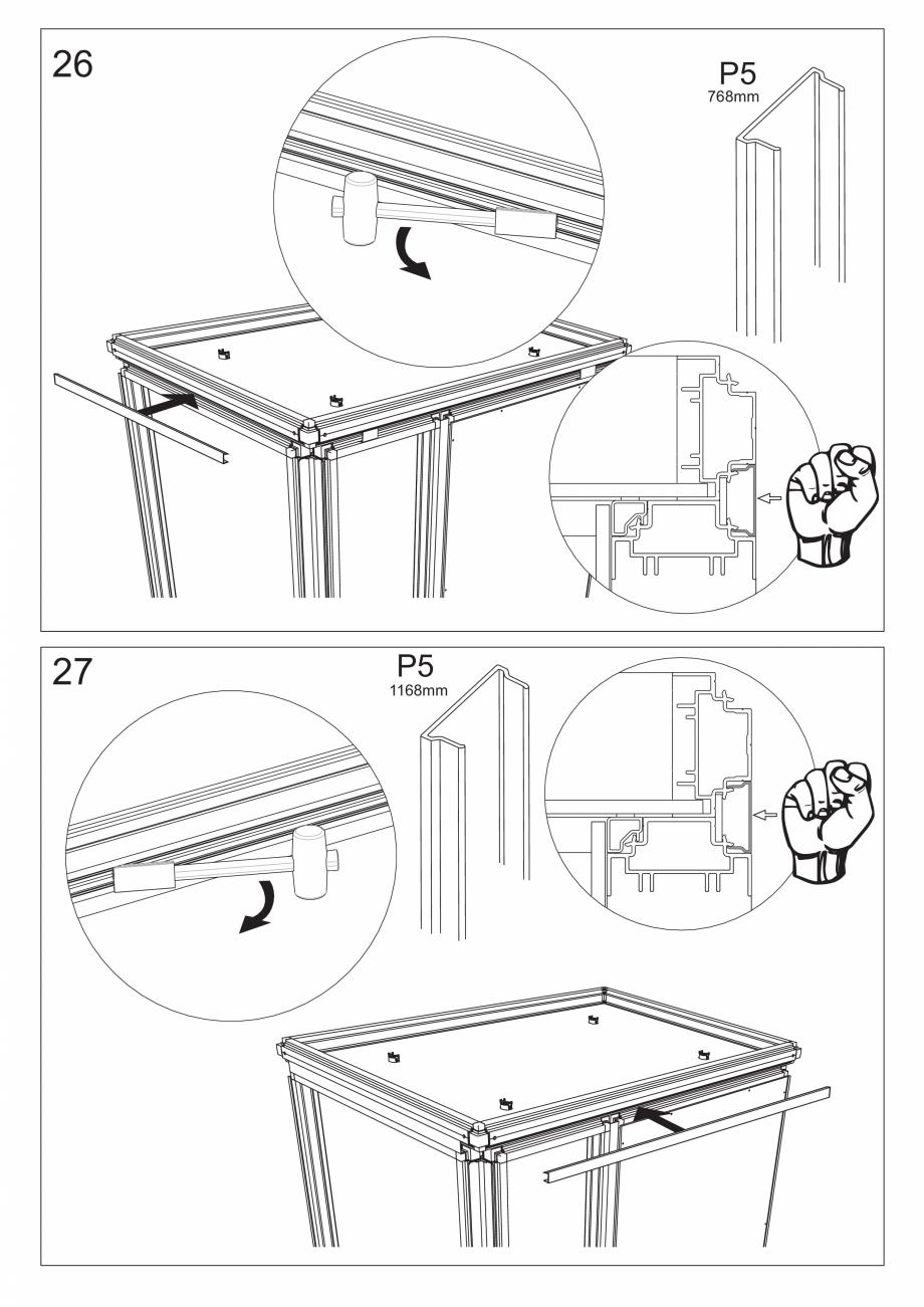 Pagina 40 - Ghidul utilizatorului pentru baia cu aburi UE Panacea Instructiuni montaj, utilizare...