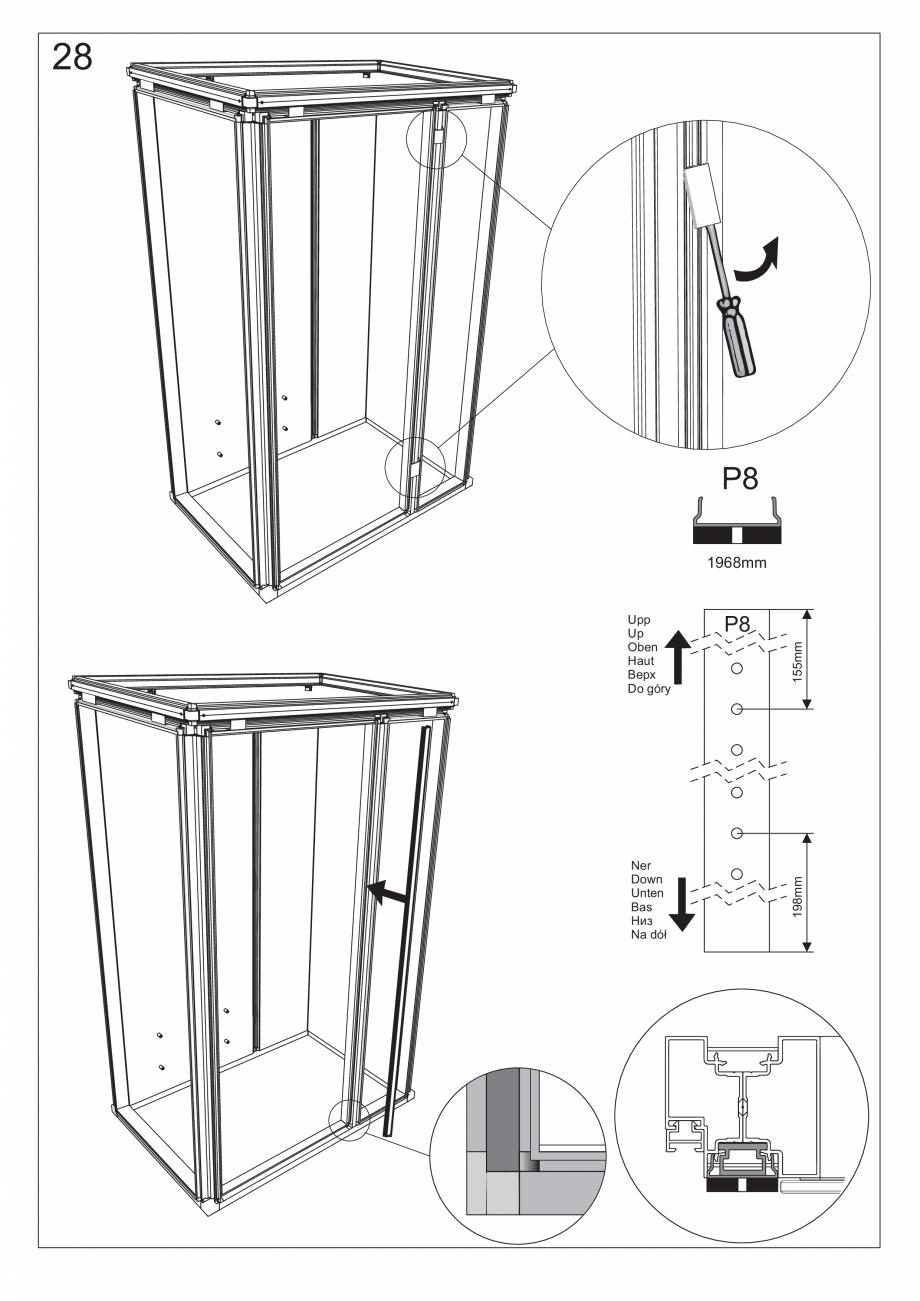 Pagina 41 - Ghidul utilizatorului pentru baia cu aburi UE Panacea Instructiuni montaj, utilizare...
