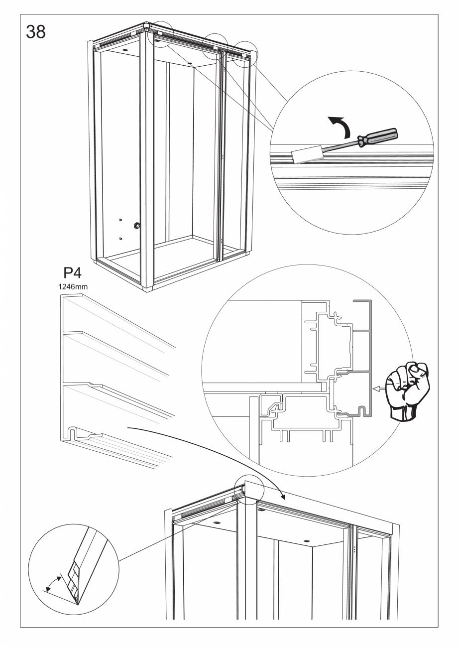 Pagina 51 - Ghidul utilizatorului pentru baia cu aburi UE Panacea Instructiuni montaj, utilizare...
