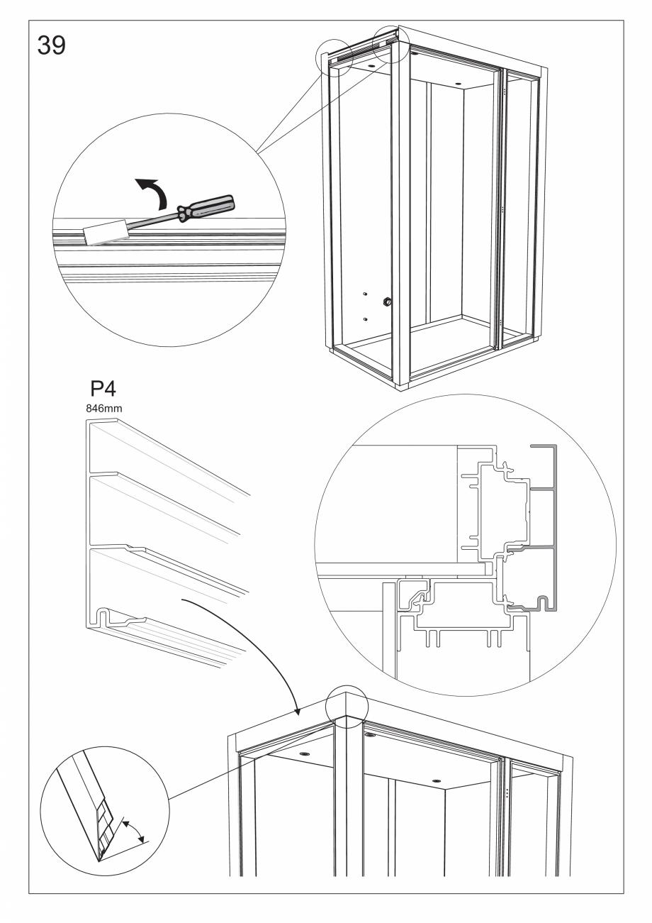 Pagina 52 - Ghidul utilizatorului pentru baia cu aburi UE Panacea Instructiuni montaj, utilizare...
