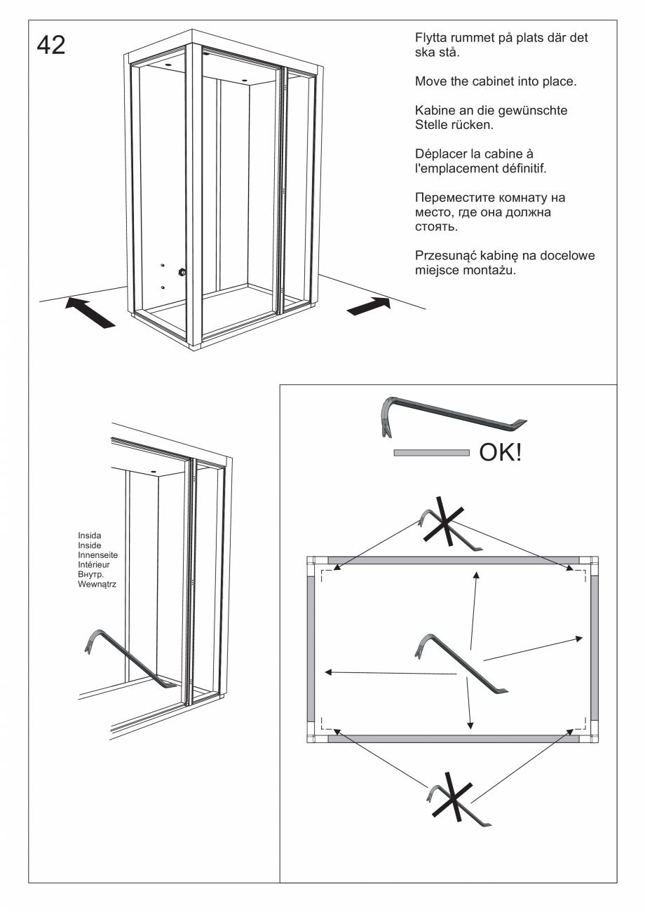 Pagina 55 - Ghidul utilizatorului pentru baia cu aburi UE Panacea Instructiuni montaj, utilizare...