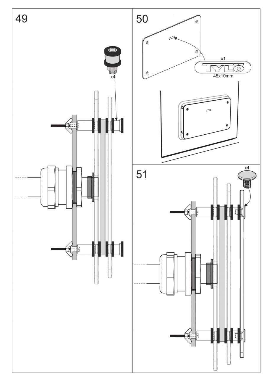 Pagina 59 - Ghidul utilizatorului pentru baia cu aburi UE Panacea Instructiuni montaj, utilizare...
