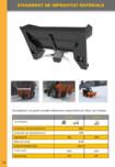 Atasament de imprastiat materiale Kovaco KOVACO - Atasament imprastiat materiale