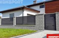 Garduri si porti metalice pentru rezidential KONSPORT