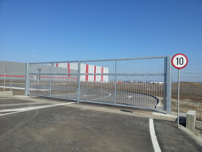 Poarta de acces batanta HERAS ADRONIT Porti de acces batante