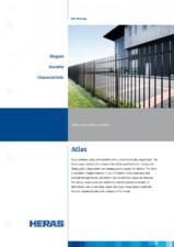 Gard metalic de fatada HERAS