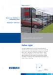 Panouri metalice rigide cu fir dublu  HERAS - Pallas, Pallas Economy