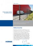 Panouri metalice rigide cu fir dublu - Security HERAS - Pallas, Pallas Economy