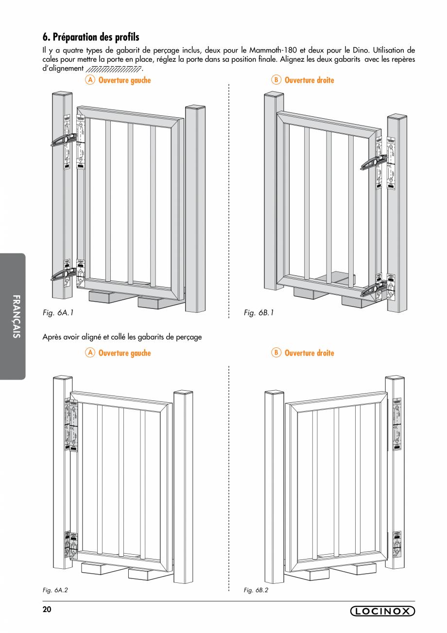 Pagina 20 - Balama pentru porti pietonale - MAMMOTH 180 LOCINOX Instructiuni montaj, utilizare...