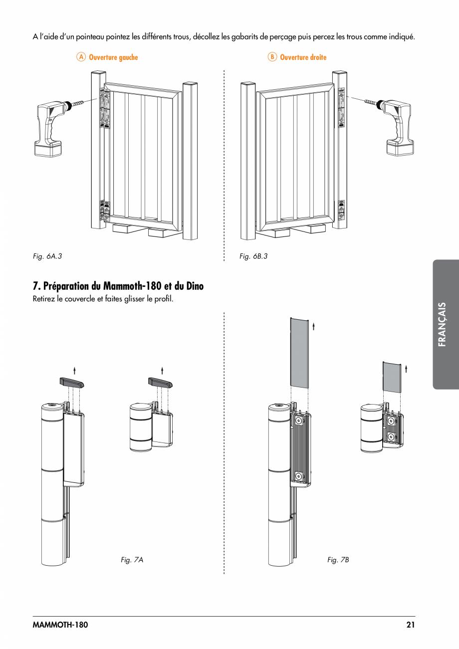 Pagina 21 - Balama pentru porti pietonale - MAMMOTH 180 LOCINOX Instructiuni montaj, utilizare...