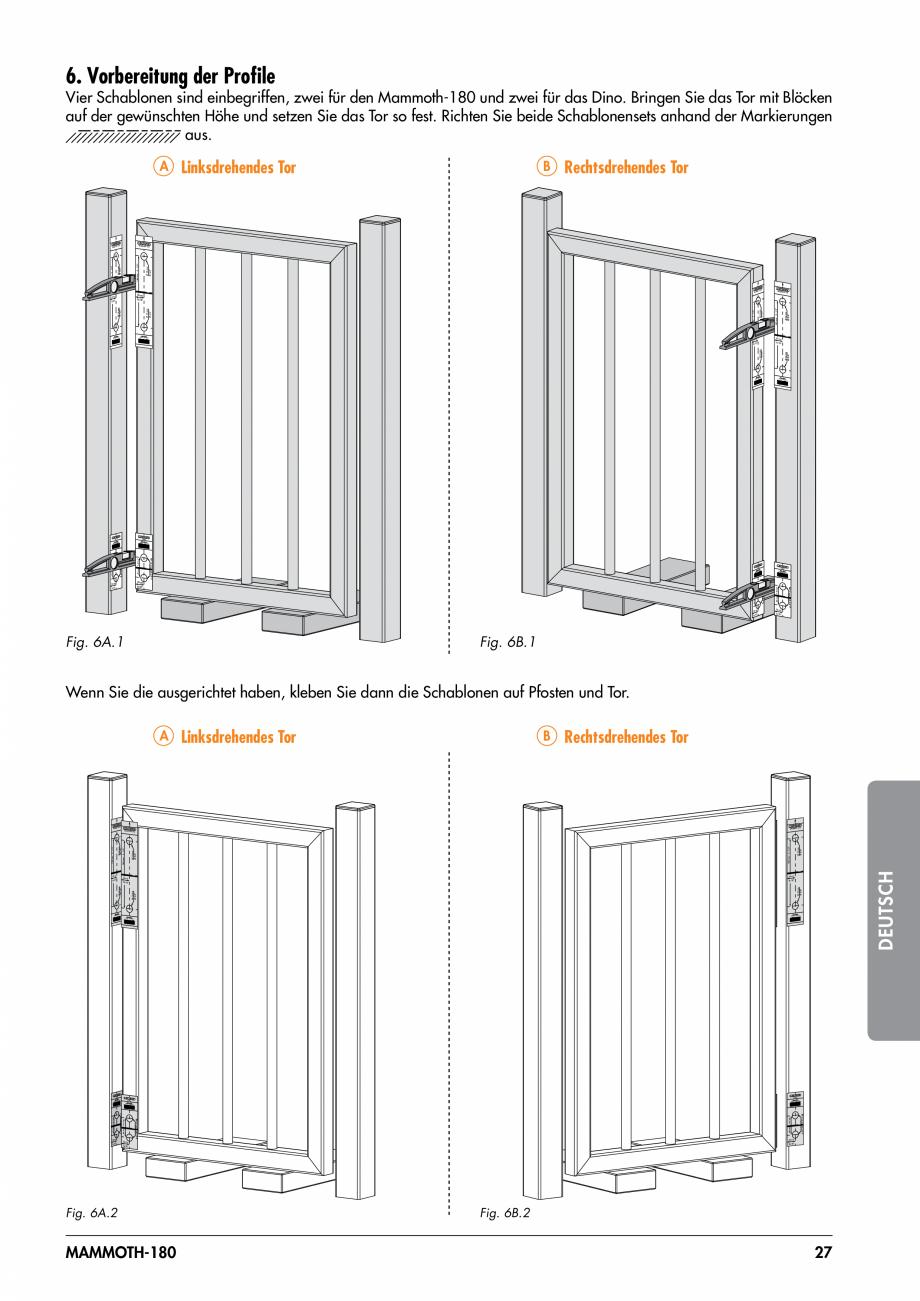 Pagina 27 - Balama pentru porti pietonale - MAMMOTH 180 LOCINOX Instructiuni montaj, utilizare...