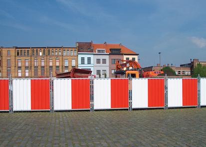 Garduri mobile si imprejmuiri temporare pentru organizare de santier HERAS
