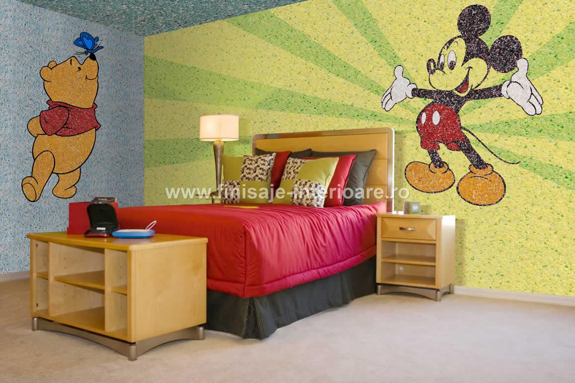 prezentare produs decorare camere de copii cu tapet lichid silkplaster 113 silk plaster poza 208. Black Bedroom Furniture Sets. Home Design Ideas