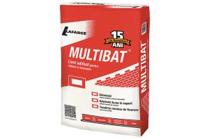 Mortare gata pregatite Liantul Multibat MC12.5 si mortarul predozat Multibat Premix oferite de LAFARGE pot fi folosite pentru orice lucrari de zidarie si tencuiala, manuale sau mecanizate, atat la interior cat si la exterior.