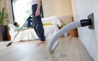 Sistem centralizat de aspirare pentru uz rezidențial Sistemul de aspirare TUBO aspira praful si filtreaza aerul aspirat din incapere si-l elimina in exteriorul casei. Este silentios si  are o contributie accentuata in prevenirea imbolnavirilor pulmonare.