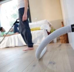 Sistem centralizat de aspirare pentru uz rezidențial TUBO