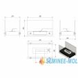 Semineu cu bioetanol MOL - SB 1015
