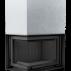 Focar de semineu M 80 Sticla stanga + deschidere verticala - Cod produs MAJA L BS
