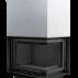Focar de semineu M 80 Sticla dreapta + deschidere verticala - Cod produs MAJA P BS