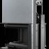 Focar de semineu Z160 Sticla Stanga + Deschidere verticala - Cod produs ZUZIA G Focar de