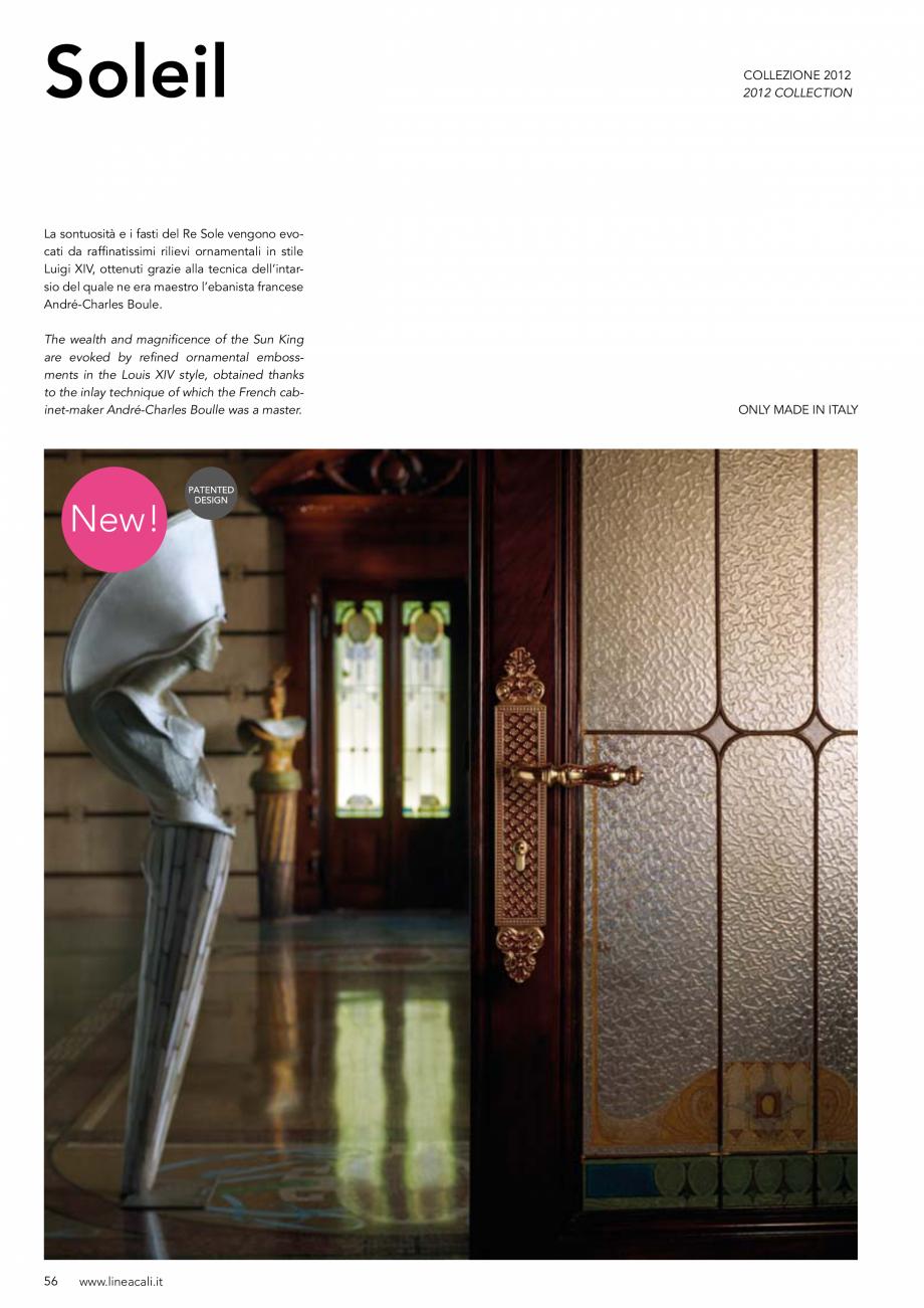 Pagina 57 - Manere vintage pentru usi LINEA CALI ARTE, DAISY, EPOCA, LIBERTY, NATURE, OPERA, OPERA...