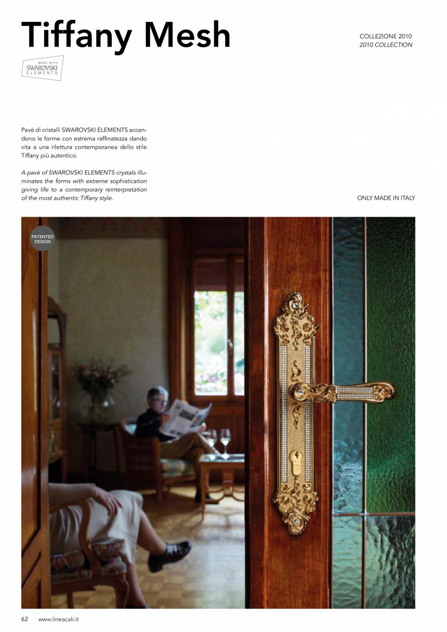 Pagina 63 - Manere vintage pentru usi LINEA CALI ARTE, DAISY, EPOCA, LIBERTY, NATURE, OPERA, OPERA...