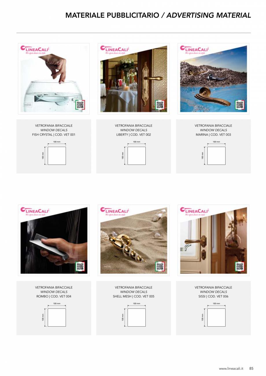 Pagina 86 - Manere vintage pentru usi LINEA CALI ARTE, DAISY, EPOCA, LIBERTY, NATURE, OPERA, OPERA...