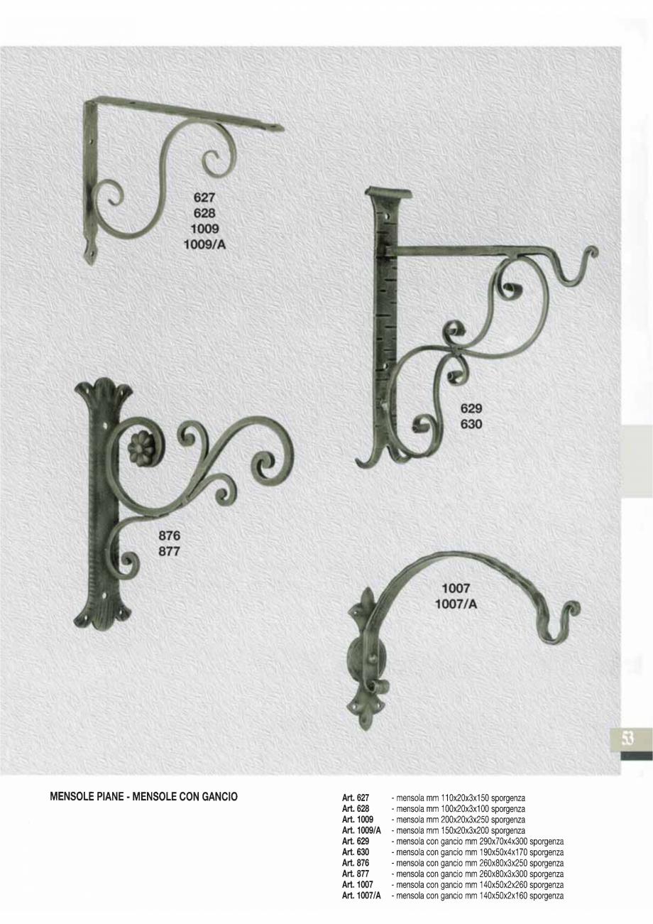 Pagina 54 - Manere si silduri din fier forjat pentru usi si ferestre GALBUSERA BAROC, BASEL, BERLIN,...