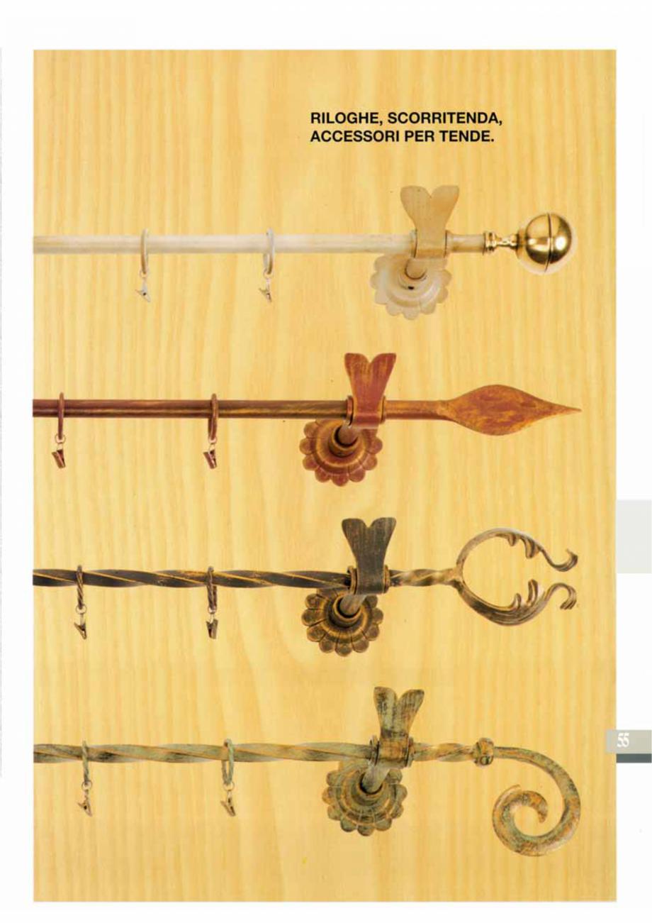 Pagina 56 - Manere si silduri din fier forjat pentru usi si ferestre GALBUSERA BAROC, BASEL, BERLIN,...
