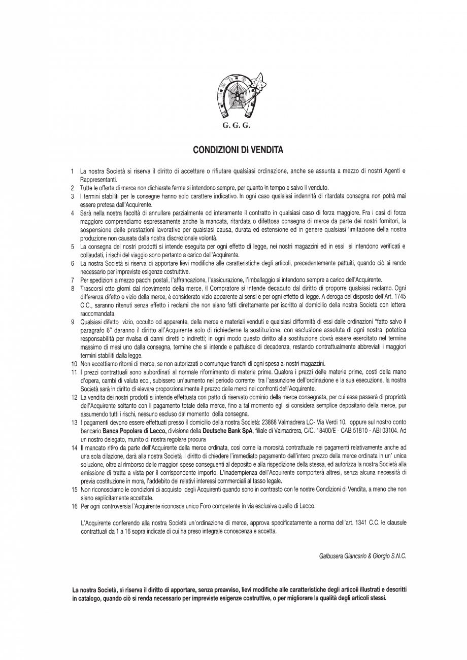 Pagina 65 - Manere si silduri din fier forjat pentru usi si ferestre GALBUSERA BAROC, BASEL, BERLIN,...
