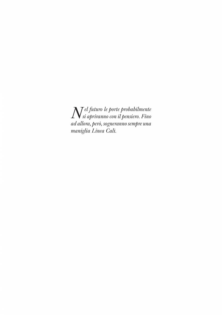 Pagina 3 - Catalog Linea CALI 2019 DALI BUSINESS Catalog, brosura Engleza, Italiana ma cod. 1415 ...